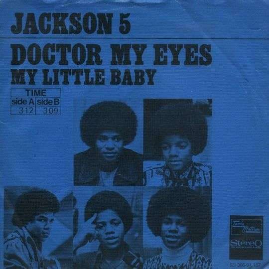 Coverafbeelding Doctor My Eyes - The Jackson 5