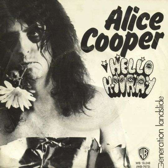 Coverafbeelding Hello Hooray - Alice Cooper