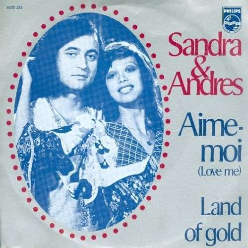 Coverafbeelding Aime-moi (Love Me) - Sandra & Andres