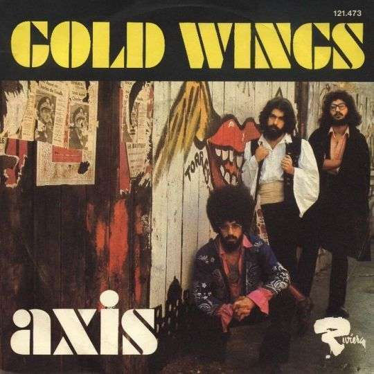 Coverafbeelding Gold Wings - Axis