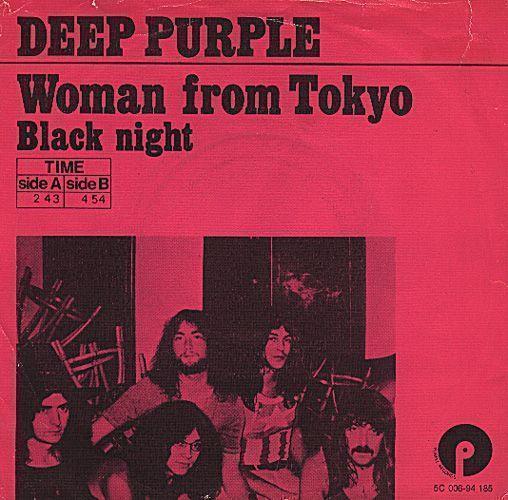 Coverafbeelding Woman From Tokyo - Deep Purple