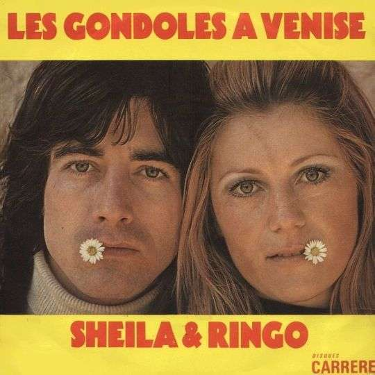 Coverafbeelding Les Gondoles A Venise - Sheila & Ringo