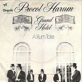 Coverafbeelding Grand Hotel - Procol Harum