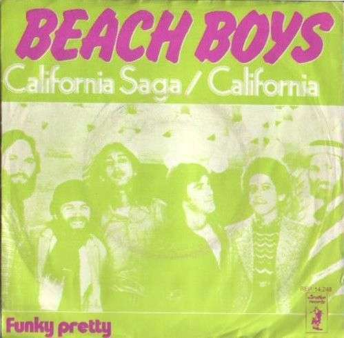 Coverafbeelding California Saga/california - Beach Boys