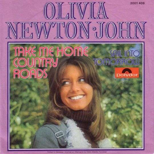 Coverafbeelding Take Me Home Country Roads - Olivia Newton-john
