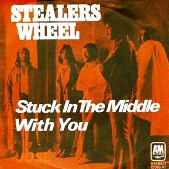 Coverafbeelding Stuck In The Middle With You - Stealers Wheel