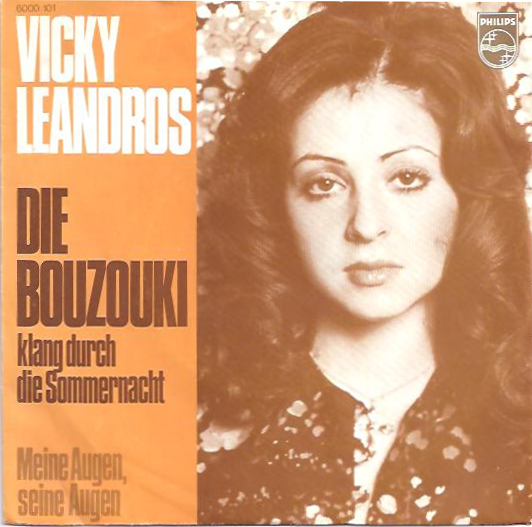 Coverafbeelding Die Bouzouki Klang Durch Die Sommernacht - Vicky Leandros