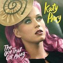 Coverafbeelding Katy Perry - The one that got away