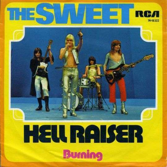 Coverafbeelding Hell Raiser - The Sweet