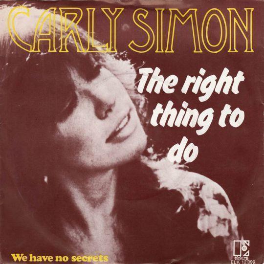 Coverafbeelding We Have No Secrets - Carly Simon