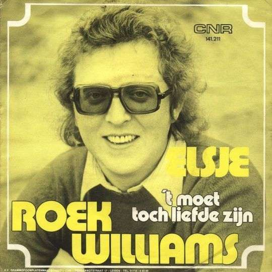 Coverafbeelding Elsje - Roek Williams