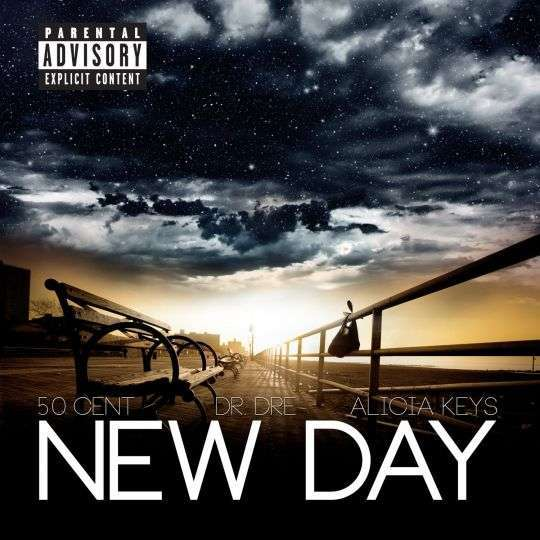 Coverafbeelding New Day - 50 Cent, Dr. Dre & Alicia Keys