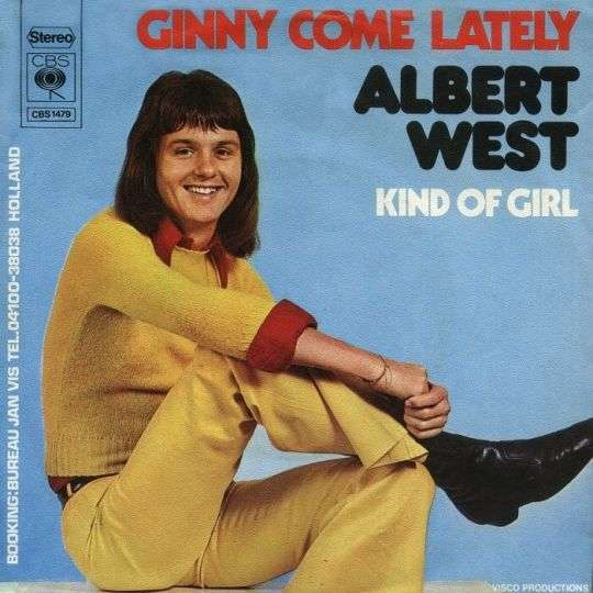 Coverafbeelding Ginny Come Lately - Albert West