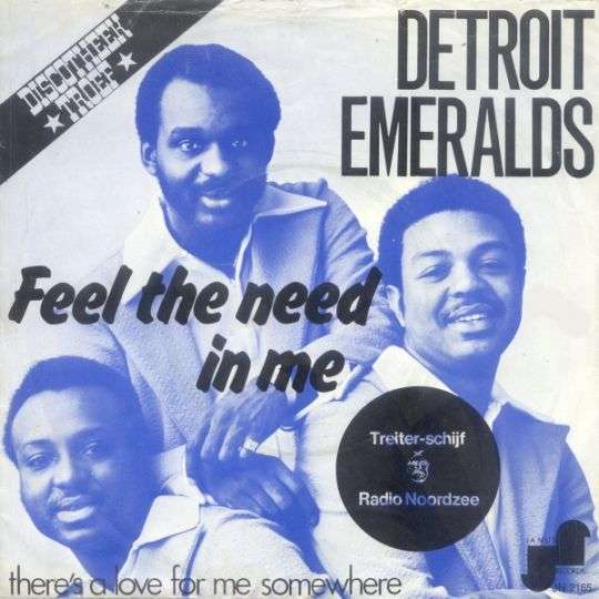 Coverafbeelding Detroit Emeralds - Feel The Need In Me