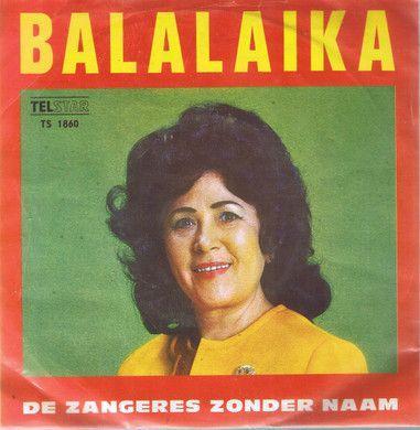 Coverafbeelding Balalaika - De Zangeres Zonder Naam