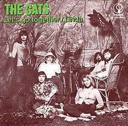 Coverafbeelding Let's Go Together - The Cats