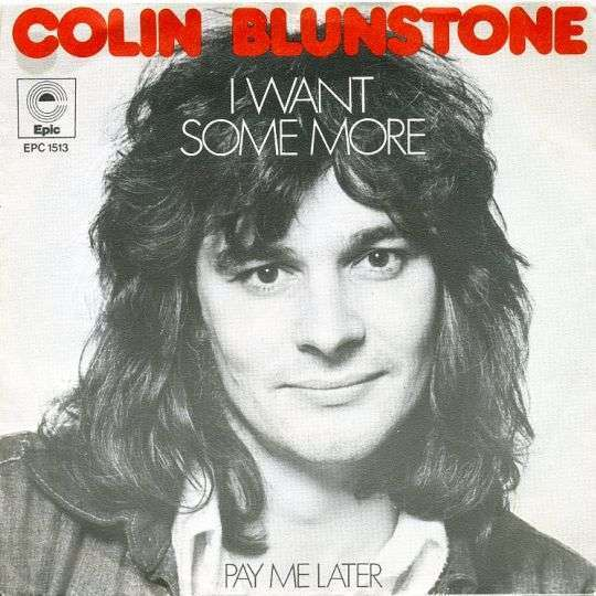Coverafbeelding I Want Some More - Colin Blunstone
