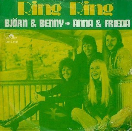 Coverafbeelding Ring Ring - Bj�rn & Benny + Anna & Frieda
