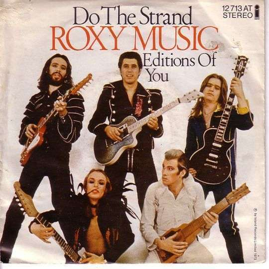Coverafbeelding Do The Strand - Roxy Music