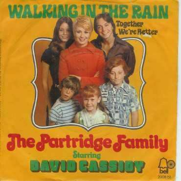 Coverafbeelding The Partridge Family starring David Cassidy - Walking In The Rain