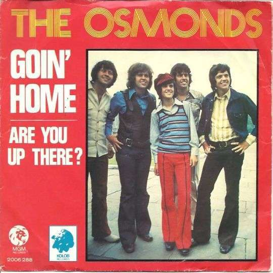 Coverafbeelding Goin' Home - The Osmonds