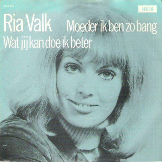 Coverafbeelding Moeder Ik Ben Zo Bang - Ria Valk