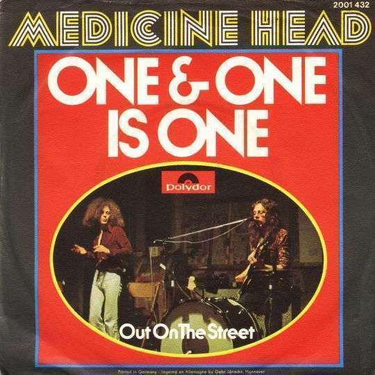 Coverafbeelding Medicine Head - One & One Is One