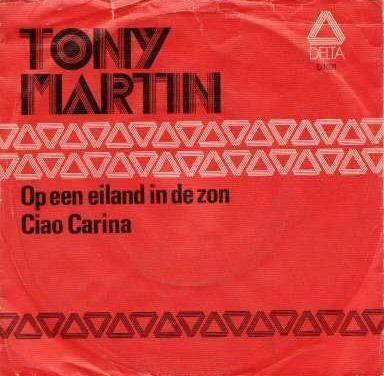 Coverafbeelding Op Een Eiland In De Zon - Tony Martin