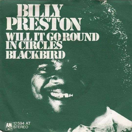 Coverafbeelding Will It Go Round In Circles - Billy Preston