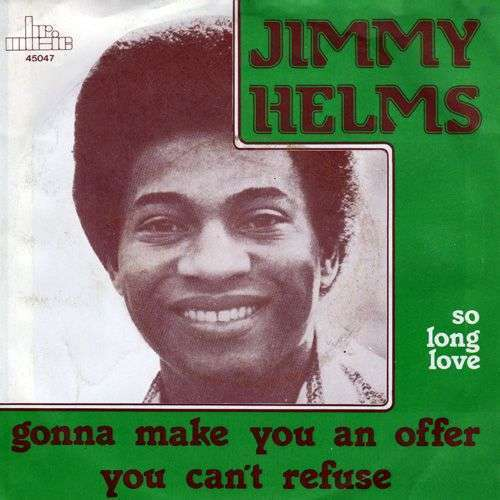 Coverafbeelding Jimmy Helms - Gonna Make You An Offer You Can't Refuse