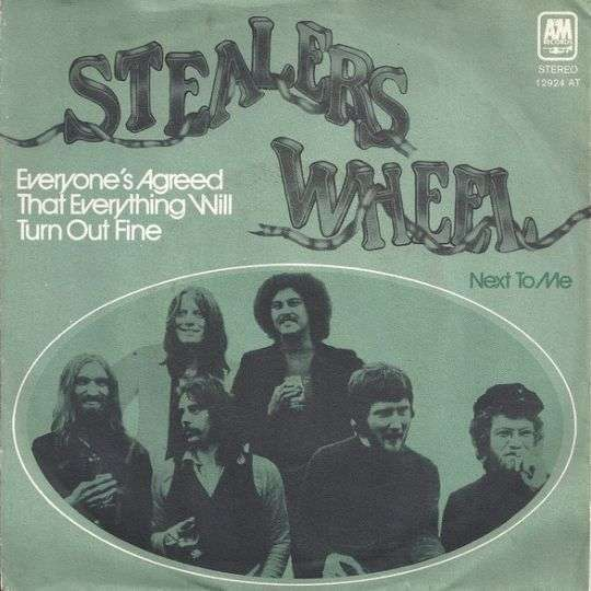 Coverafbeelding Everyone's Agreed That Everything Will Turn Out Fine - Stealers Wheel