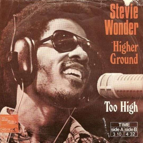 Coverafbeelding Higher Ground - Stevie Wonder