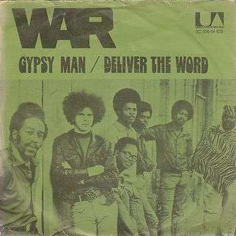 Coverafbeelding Gypsy Man - War