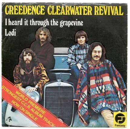 Coverafbeelding I Heard It Through The Grapevine - Creedence Clearwater Revival