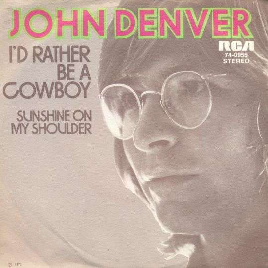 Coverafbeelding I'd Rather Be A Cowboy - John Denver