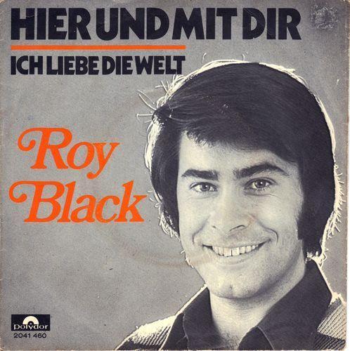 Coverafbeelding Hier Und Mit Dir - Roy Black
