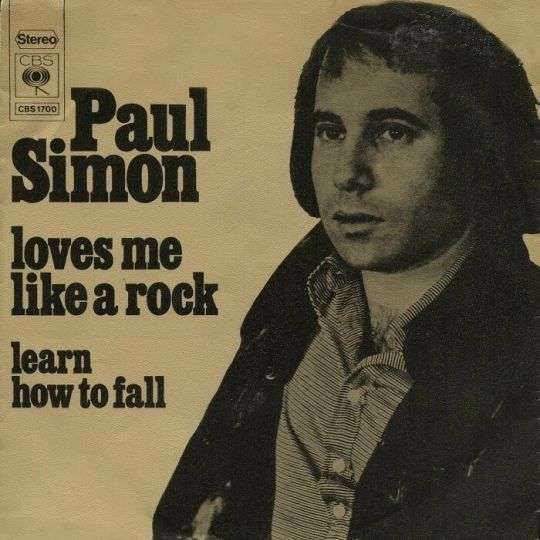 Coverafbeelding Loves Me Like A Rock - Paul Simon