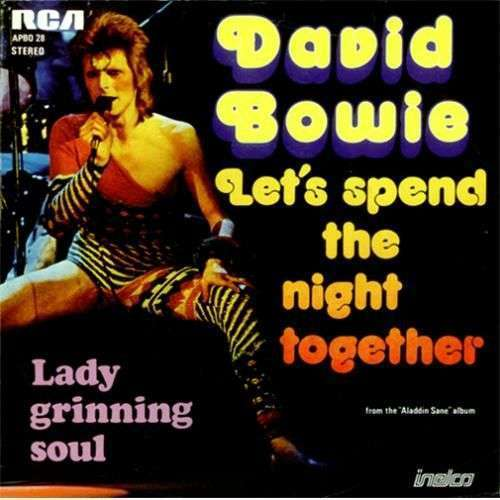 Coverafbeelding Let's Spend The Night Together - David Bowie