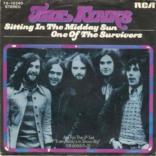Coverafbeelding Sitting In The Midday Sun - The Kinks