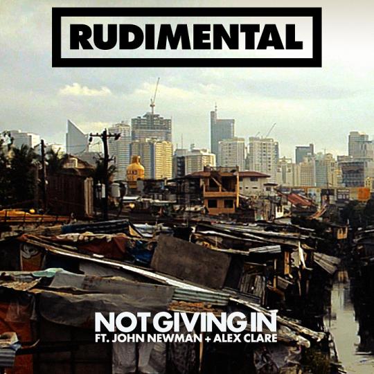 Coverafbeelding rudimental ft. john newman + alex clare - not giving in