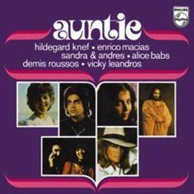 Coverafbeelding Auntie - Hildegard Knef, Enrico Macias, Sandra & Andres, Alice Babs, Demis Roussos, Vicky Leandros