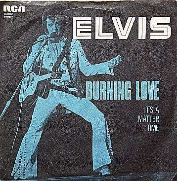 Coverafbeelding Burning Love - Elvis