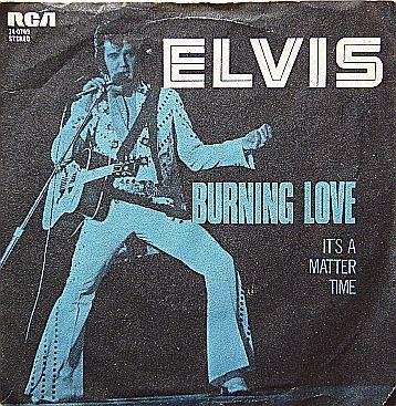 Coverafbeelding Elvis - Burning Love
