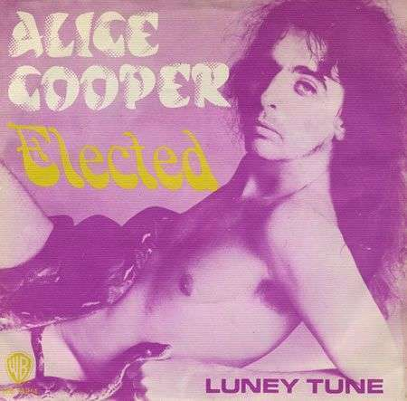Coverafbeelding Elected - Alice Cooper