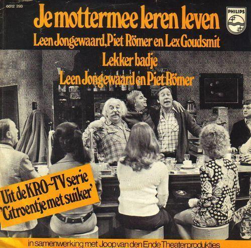 Coverafbeelding Je Mottermee Leren Leven - Leen Jongewaard, Piet Römer En Lex Goudsmit