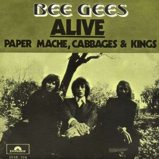 Coverafbeelding Bee Gees - Alive