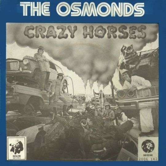 Coverafbeelding Crazy Horses - The Osmonds