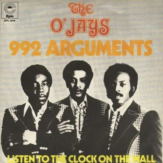 Coverafbeelding The O'Jays - 992 Arguments