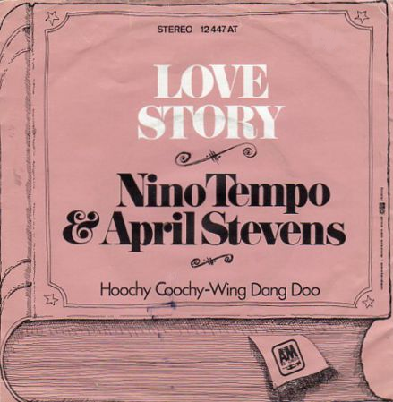 Coverafbeelding Nino Tempo & April Stevens - Love Story