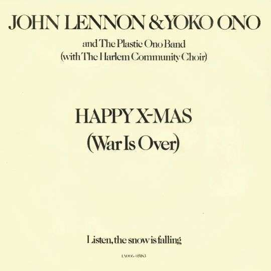 Coverafbeelding John & Yoko & The Plastic Ono Band with The Harlem Community Choir / John Lennon & Y